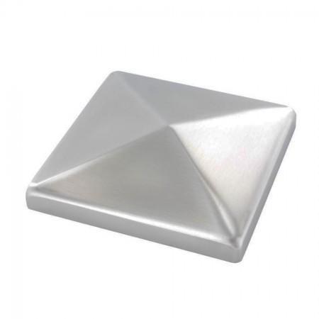 Pyramidenkappe V2A, Oberfläche geschliffen, Ecken überschliffen, Größe wählbar