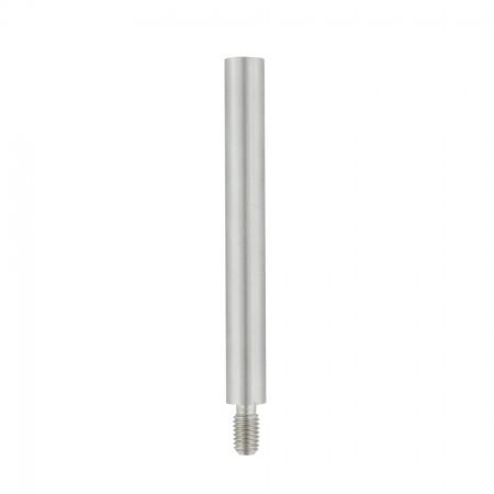 Stift VA, mit Außengewinde M8 und Innengewinde M6, Durchmesser / Länge und Material wählbar