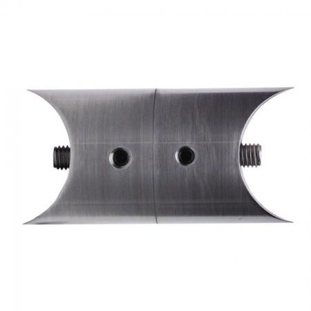 Edelstahl Rohrverbindungsstück verstellbar zum Anschrauben V2A, Rohrgröße frei wählbar