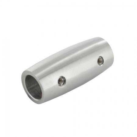 Edelstahl Verbindungsstück V2A für Rundmaterial, Größe frei wählbar