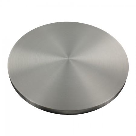 Ronde einseitig geschliffen, Rundschliff, V2A, Durchmesser Ø individuell zwischen 30 - 150mm wählbar