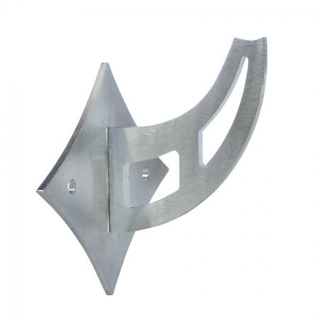 Handlaufhalter 2 Loch zum Anschweißen für Rohr 42,4 mm