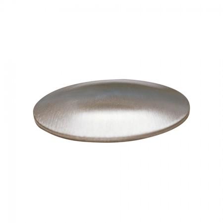 Gewölbte Schale V2A, Aufschweisdeckel einseitig geschliffen, Größe wählbar