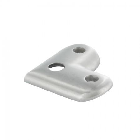 Handlaufanschlussplatte 90° für Rohr 42,4mm, Material frei wählbar