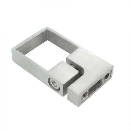 Edelstahl Spannring V2A, für Rohr 40 x 40mm