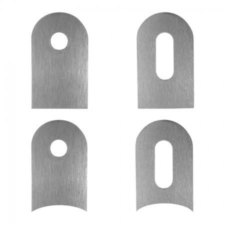 Anschweißlasche V2A, Oberfläche geschliffen, Größe / Anschluss und Lochung frei wählbar