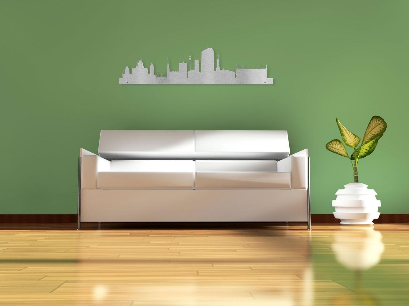 Edelstahl design wandtattoo skyline dortmund jetzt online bestellen - Wandtattoo dortmund ...