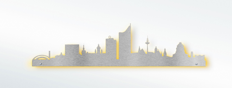 Wandtattoo Skyline Leipzig