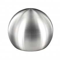 Rohrabschlusskugel V2A, Vollmaterial, zum Einschlagen, Rohrgröße frei wählbar