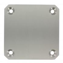 Ankerplatte 150 x 150 x 10mm, Vier Bohrungen á 14mm