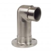 Edelstahl Wandhalterung mit 90° als Ecke  V2A, für Rohr 42,4mm