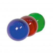 Glaskugel mit Sackloch, Durchmesser Ø / Farbe und Sackloch frei wählbar