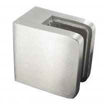 Glasklemme 45 x 45 x 26mm Material/Anschluss und Gummistärke frei wählbar