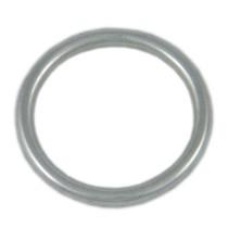 Edelstahl Ring verschweisst und elektropoliert  V2A, Größe frei wählbar