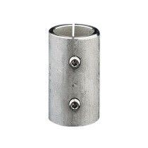 Edelstahl Verbindungshülse mit Klemmschrauben V2A, Rohrgröße frei wählbar