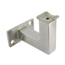 Handlaufhalter 2 Loch  für Rohr 42,4mm zum Anschweißen oder Anschrauben