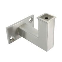Handlaufhalter 2 Loch für flachen Anschluss zum Anschweißen oder Anschrauben