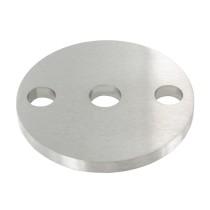 Ankerplatte einseitig geschliffen, Schliff und Durchmesser Ø frei wählbar von 70 - 120mm