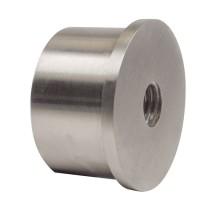 Befestigungsteil für Anschlussbogen V2A, mit Gewinde M8, für Rohr 42,4mm